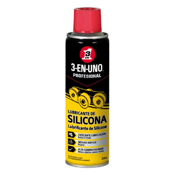 ACEITE 3 EN 1 SILICONA EN SPRAY 250ML