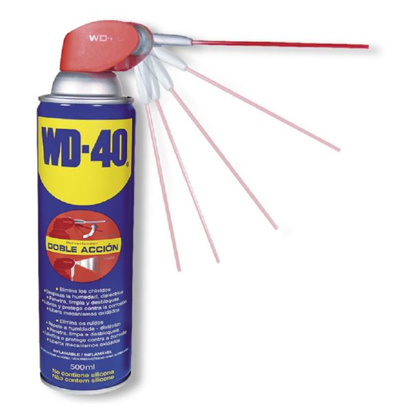 ACEITE WD-40 SMARTSTRAW 500ML DOBLE ACCION