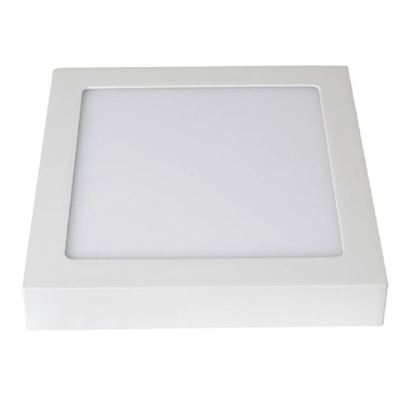 APLIQUE LED SUPERFICIE CUADRADO 12W OPORTO BLANCO DUOLEC