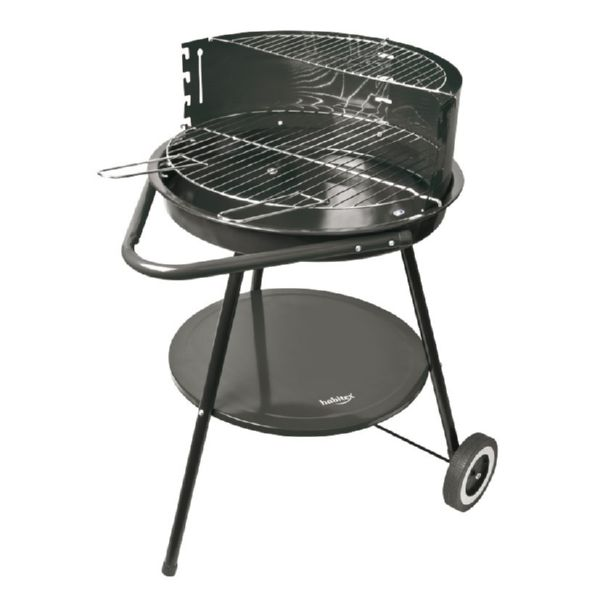 BARBACOA CARBON C/RUEDAS SUPERGRILL 45 46CMXH66CM HABITEX
