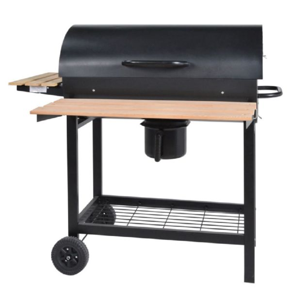 BARBACOA CARBON C/RUEDAS SUPERGRILL 70 70CM HABITEX