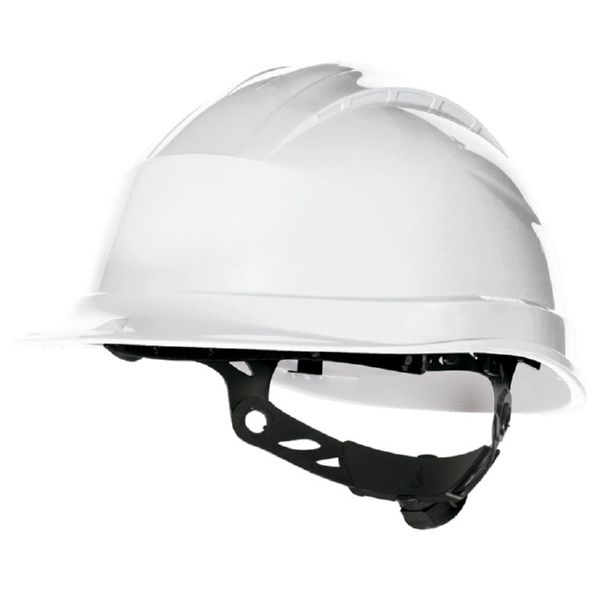CASCO PROTECCION BLANCO AJUSTABLE C/RUEDA DELTAPLUS
