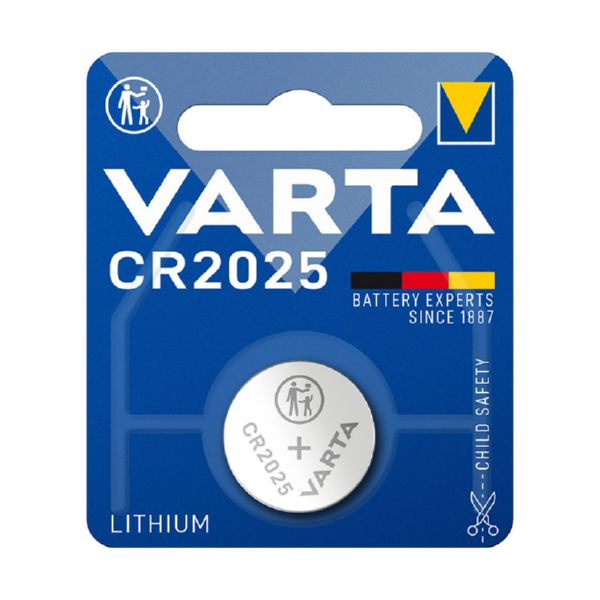 PILA LITIO CR 2025 3V VARTA
